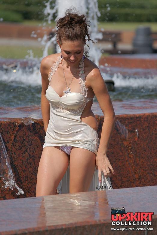 ::Sunny hot ass blonde upskirts lace stockings::Hot lesbians party & reveal no panty upskirt - UpskirtCollection.com::Upskirt Collection