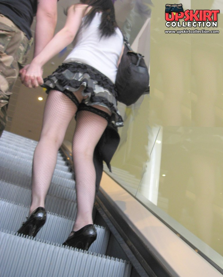 Girl in stockings. Her pretty upskirt will make you hard::::Girl in stockings. Her pretty upskirt will make you hard in voyeur upskirt free photo gallery from UpskirtCollection.com::Upskirt Collection